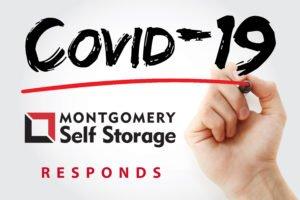 COVID Friendly Self Storage Facility - Montgomery Self Storage