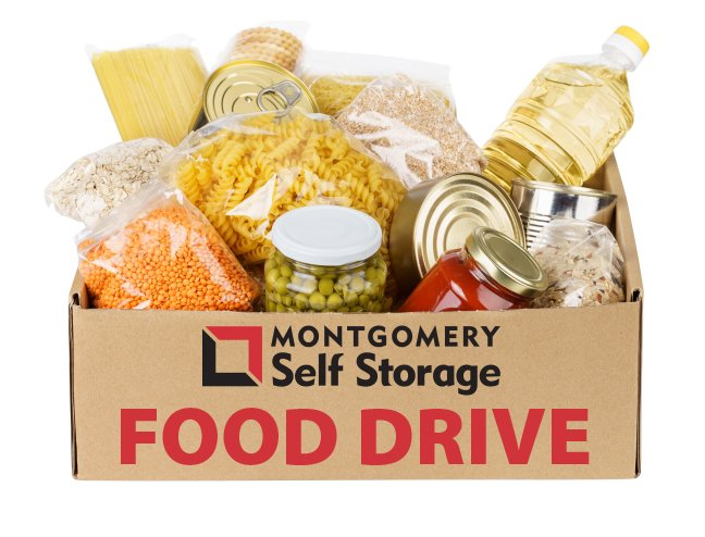 Montgomery Food Bank Food Drive - Montgomery Self Storage