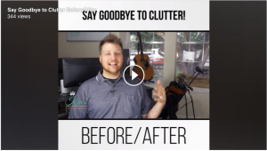 Before and After Clutter