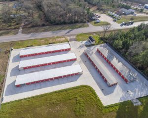 105 East Drone Pic - Montgomery Self Storage