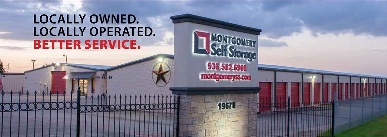 1 & Self Storage Houston TX - Montgomery Self Storage - Conroe ...